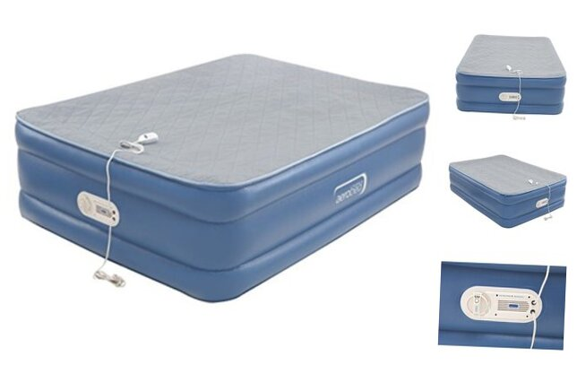 AeroBed Air Mattress with Built in Pump | Air Bed with Quilt