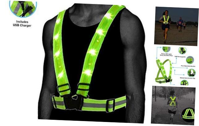 Atlecko 360° Reflective LED Running, Cycling or Hiking ...